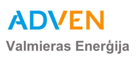 Adven Valmieras enerģija logo