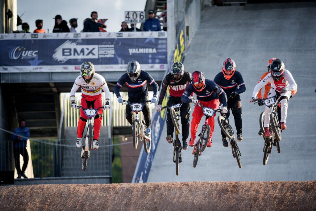 """2019.gadā tika atklāta jaunā Māra Štromberga BMX trase """"Valmiera"""" un uzņemti labākie  BMX riteņbraucēji Eiropas čempionātā."""